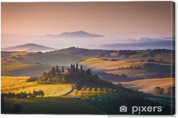 Canvas Toscane panorama - Thema's