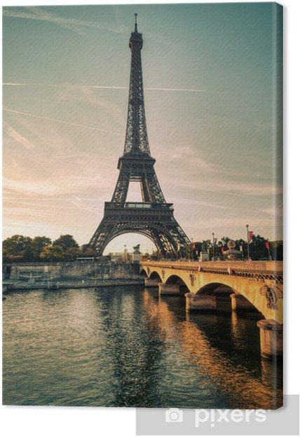 Canvas Tour Eiffel Parijs Frankrijk - Thema's