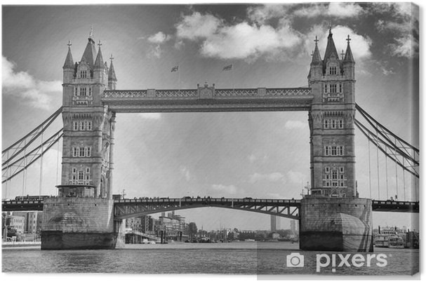 Canvas Tower Bridge, London, UK - Thema's