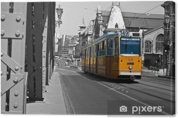 Canvas Tram - Onderweg