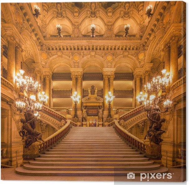 Canvas Treppenhaus in der Oper - Thema's
