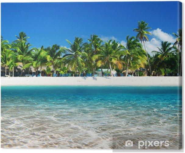 Canvas Tropisch beach - iStaging