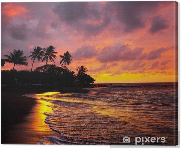 Canvas Tropisch beach - Thema's
