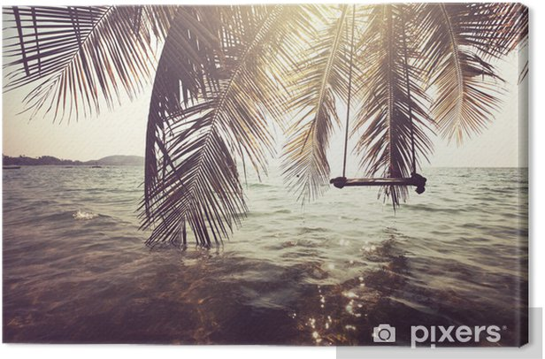 Canvas Tropisch strand - Thema's