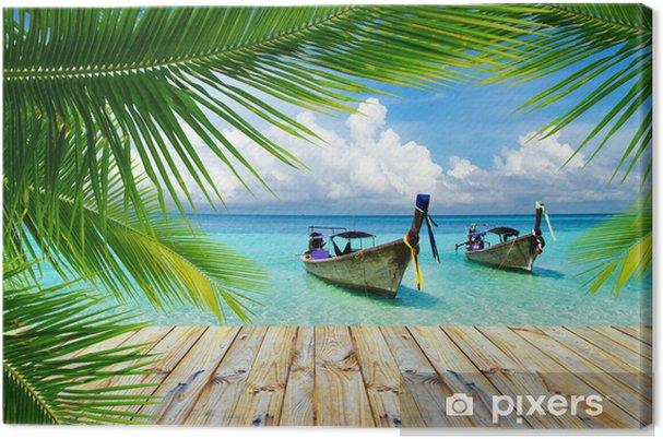Canvas Tropische zee - Thema's