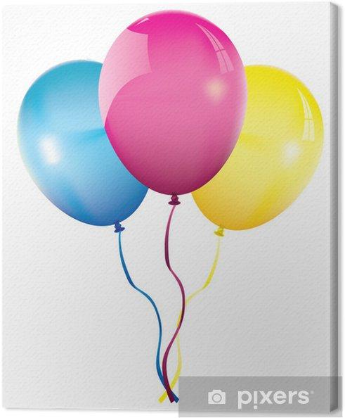 Canvas Tros ballonnen - Amusement