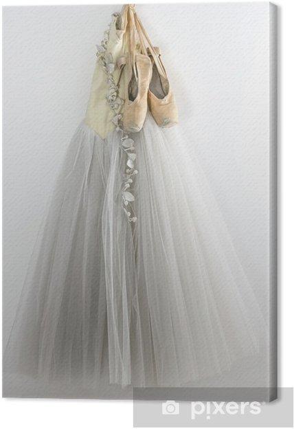 Canvas Tutu en balletschoenen - iStaging