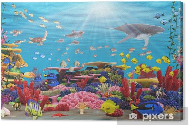 Canvas Underwater Paradise - Thema's