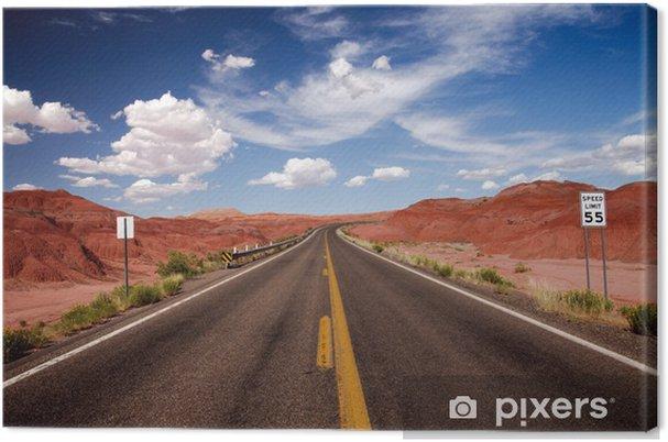 Canvas USA op de weg, de VS © 2009 GecoPhotography - Thema's