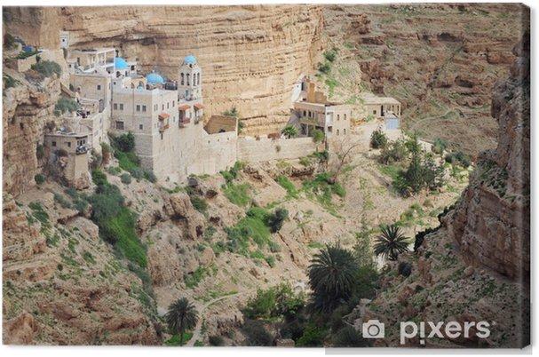 Canvas Vakantiefoto's Israël-woestijn van Judea - Midden Oosten