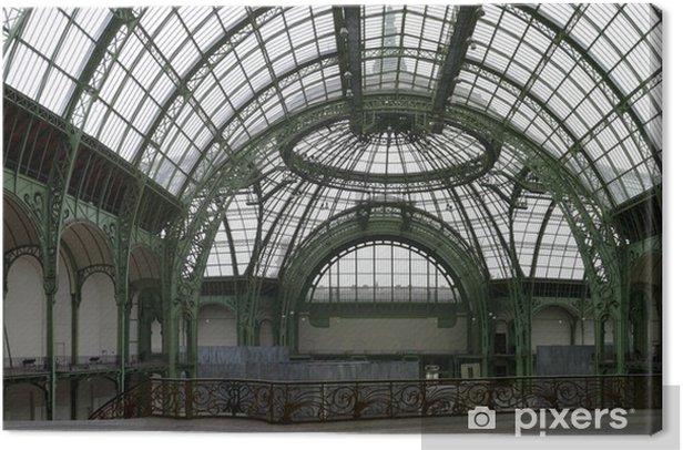 Canvas Verrière du Grand Palais, Parijs 8 - Europese steden