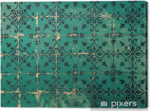 Portugese Tegels Belgie : Canvas vintage tegels traditionele portugese tegels u2022 pixers® we