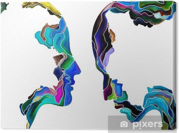 Canvas Virtual Zelf Fragmentatie -