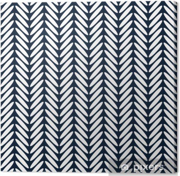 Canvas Visgraat klassieke naadloze patroon vector - Grafische Bronnen