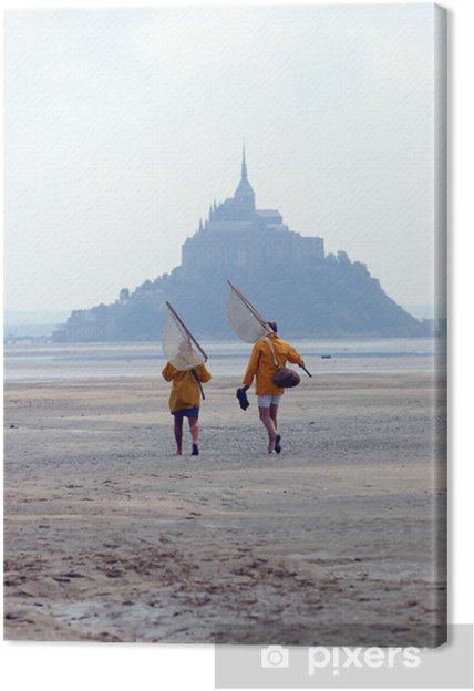 Canvas Vissers Mont Saint Michel - Buitensport