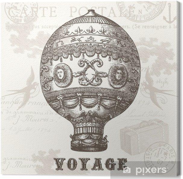 Canvas Voyage - Grafische Bronnen