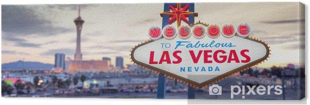 Canvas Welcome To Las Vegas Sign - Las Vegas