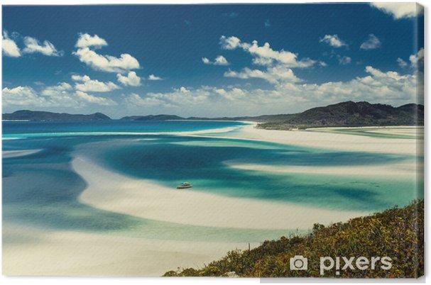 Canvas Whitehaven Beach in Australië - Thema's