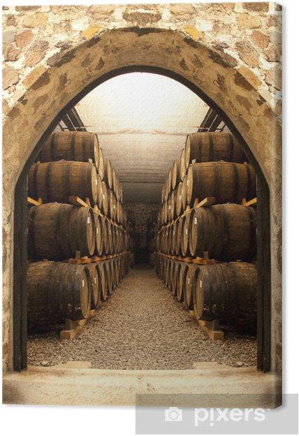 Canvas Wijnvaten - Stijlen