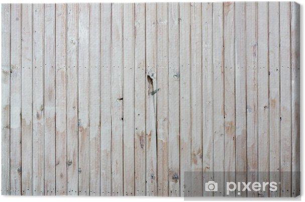 Houten Planken Voor Muur.Canvas Witte Houten Planken Oude Muur Achtergrond