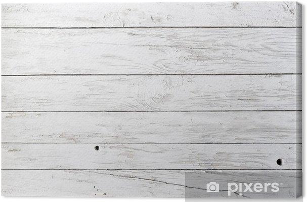 Canvas Witte planken - Stijlen