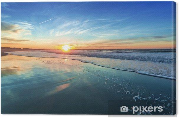 Canvas Zons - Zee en oceaan