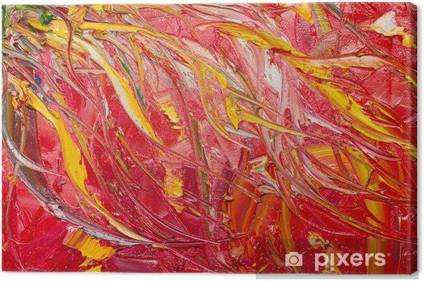 Abstrakt konst canvas 95a7726b8bb7d