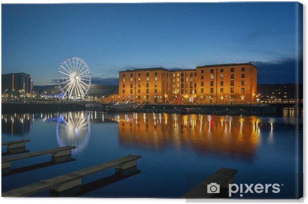 Canvastavla Albert Dock, Liverpool England - Europa