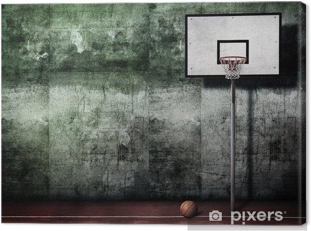 Canvastavla Basket korg • Pixers® - Vi lever för förändring 070591bd3430c