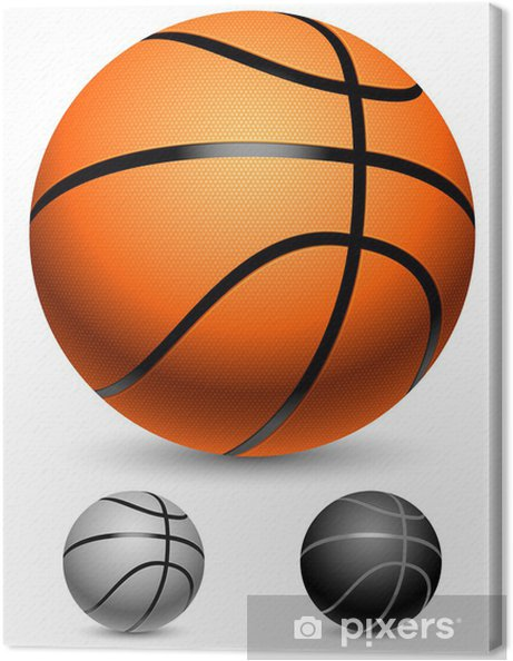 Canvastavla Basketbollar • Pixers® - Vi lever för förändring cf87b45cc6d86