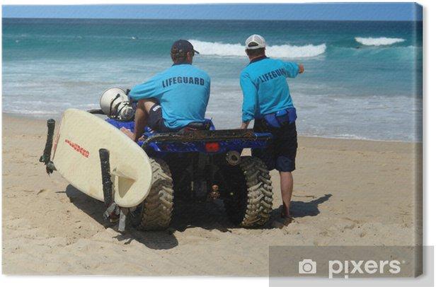 Canvastavla Bondi beach - Oceanien