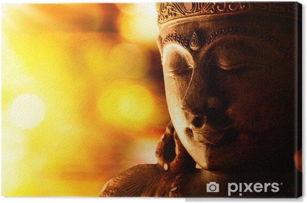 Canvastavla Brons buddha staty - Stilar
