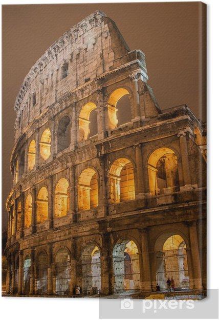 Canvastavla Colosseum i Rom Italien - Rom