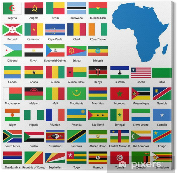 Flaggor Afrika About Flag Collections