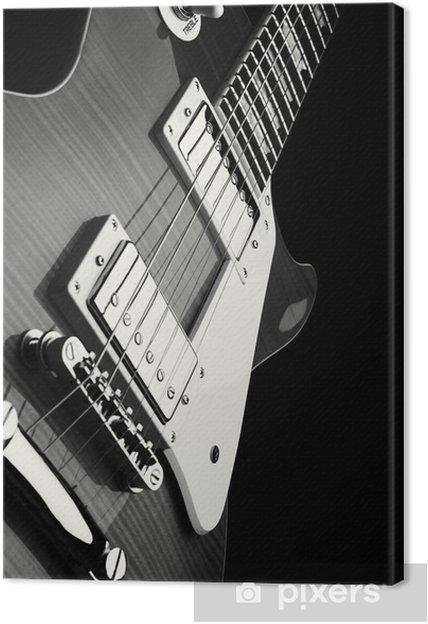 Canvastavla E-guitar - Stilar