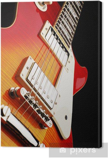 Canvastavla Electro gitarr - Teman