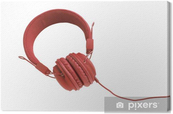 Canvastavla Eleganta färgglada hörlurar med kabel • Pixers® - Vi ... 57671753b90e7