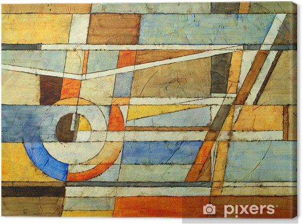 Canvastavla En abstrakt målning - Konst & skapande