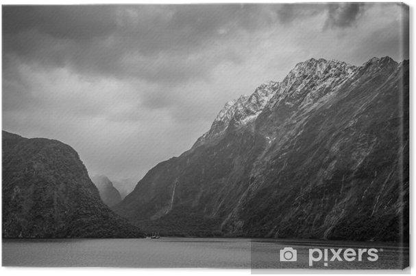 Canvastavla Fiordland National Park Scenic in - Sydön i Nya Zeeland - Resor