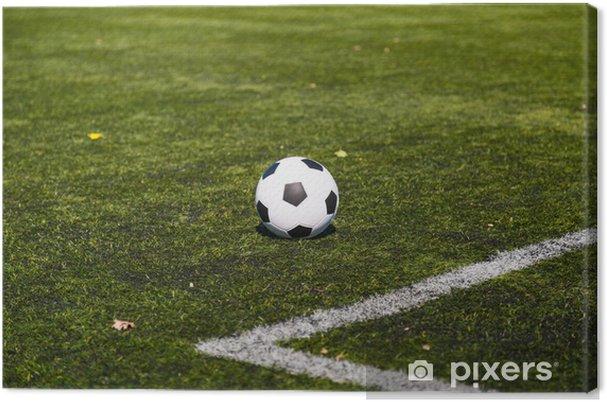 Canvastavla Fotbollsplan • Pixers® - Vi lever för förändring ec703528a2ec8