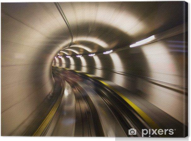 Canvastavla Genom tunneln - Teman
