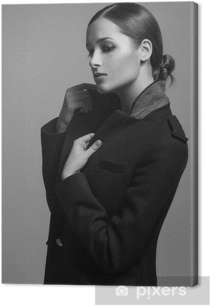 e86aa70022c0 Canvastavla Hög modell för lagpälsvinter kläder • Pixers® - Vi lever ...