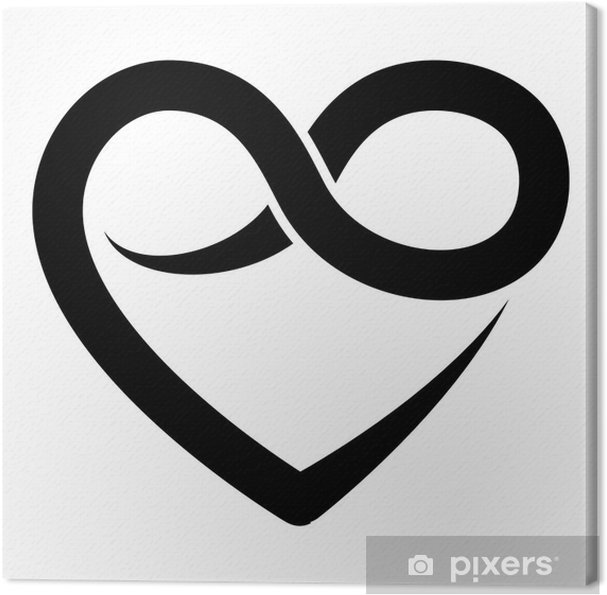 hjärta symbol text