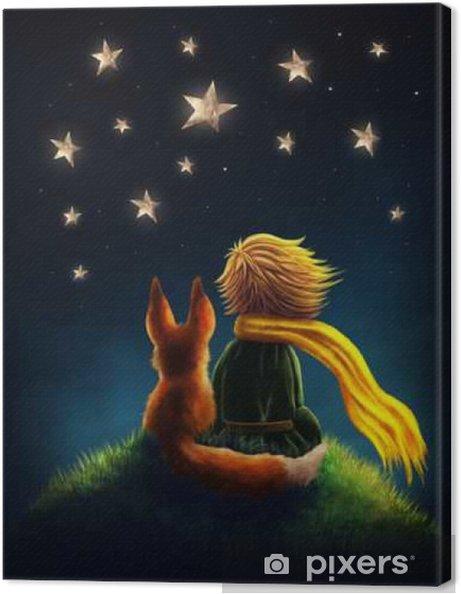 Canvastavla Lilla prinsen - Människor