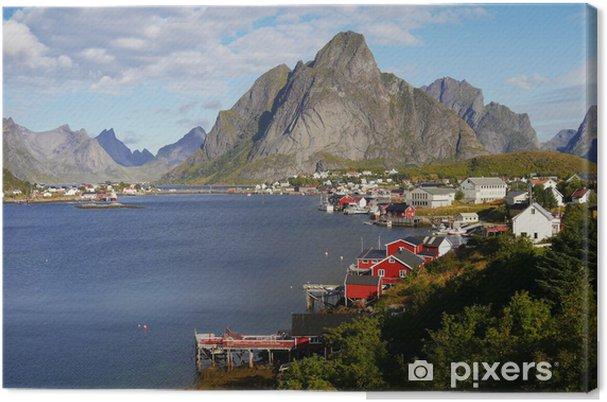 Canvastavla Lofoten, Norge - Teman