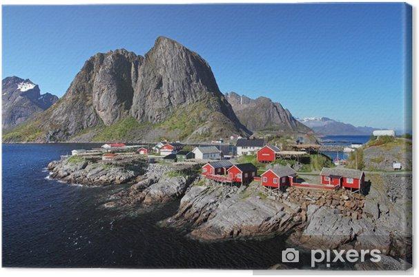 Canvastavla Norge by Reine - Teman