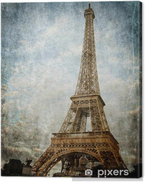Canvastavla Paris - Teman