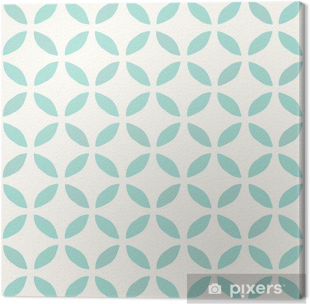 Canvastavla Seamless mönster  Handritad  Blomma  bakgrund design