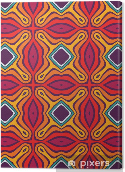 Canvastavla Sömlös mönster - Bakgrunder