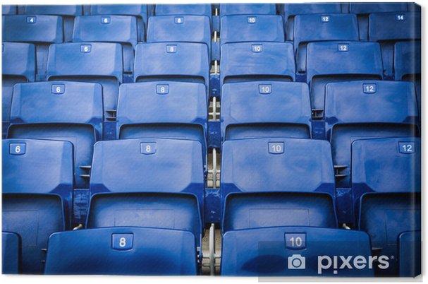 Canvastavla Stadion platser - Offentliga byggnader
